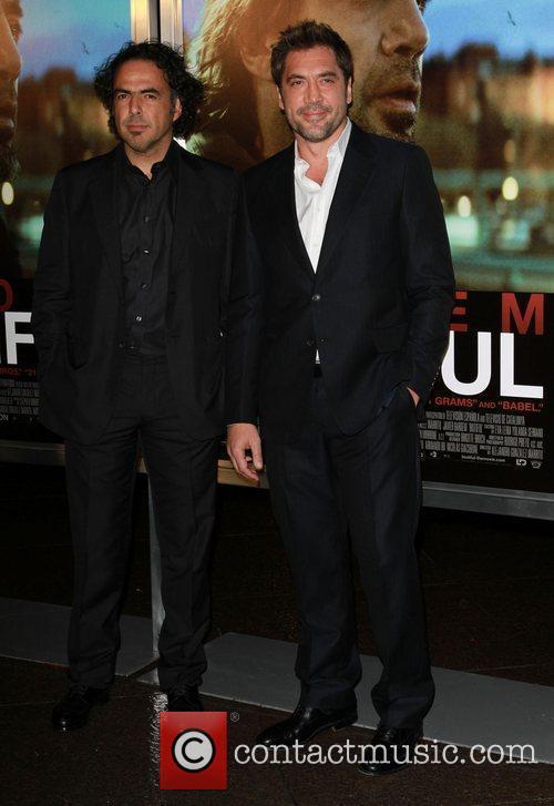 Alejandro Gonzalez Inarritu and Javier Bardem 6