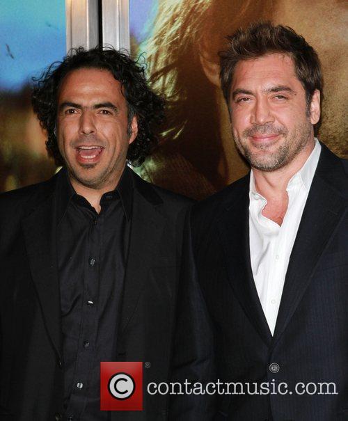 Alejandro Gonzalez Inarritu and Javier Bardem 3