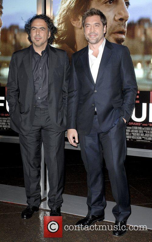 Alejandro Gonzalez Inarritu and Javier Bardem 9