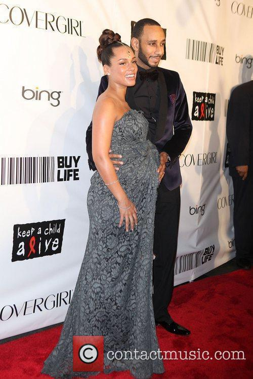 Alicia Keys, Black Ball and Swizz Beatz 5