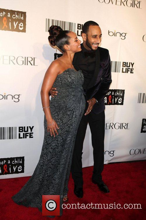 Alicia Keys, Black Ball and Swizz Beatz 9
