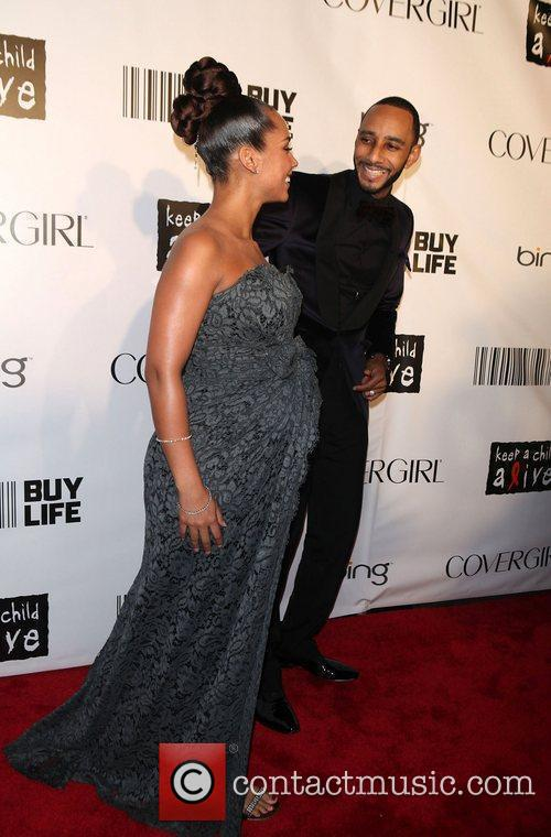 Alicia Keys, Black Ball and Swizz Beatz 1