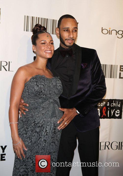 Alicia Keys, Black Ball and Swizz Beatz 6
