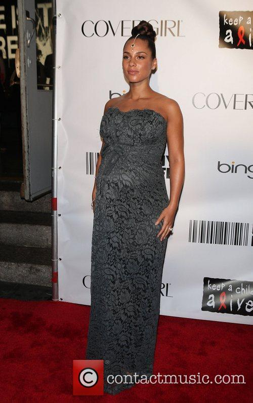 Alicia Keys and Black Ball 7