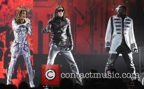 Fergie aka Stacy Ferguson, Taboo and will.i.am of...