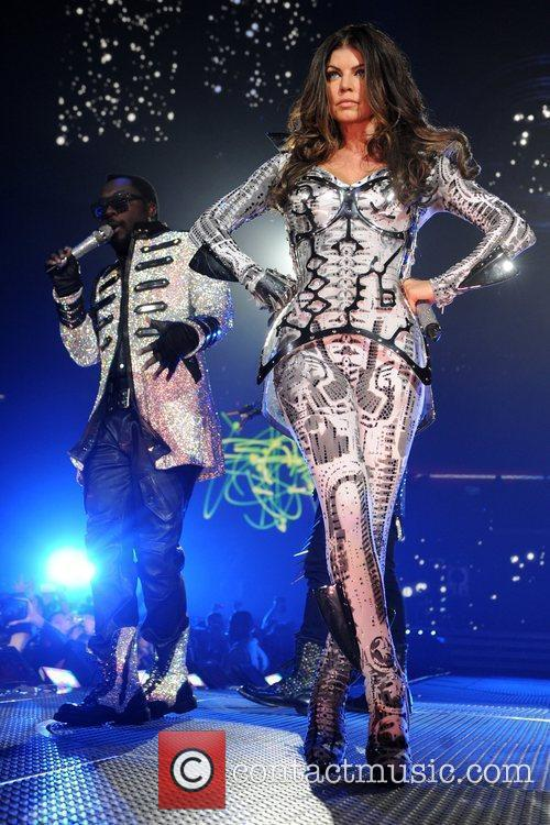 Will.i.am and Fergie aka Stacy Ferguson of the...