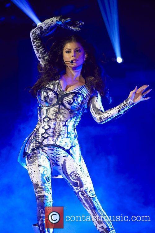 Fergie aka Stacy Ferguson The Black Eyed Peas...