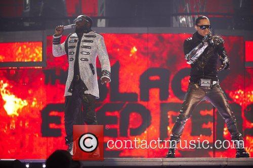 Will.i.am and Taboo The Black Eyed Peas perform...