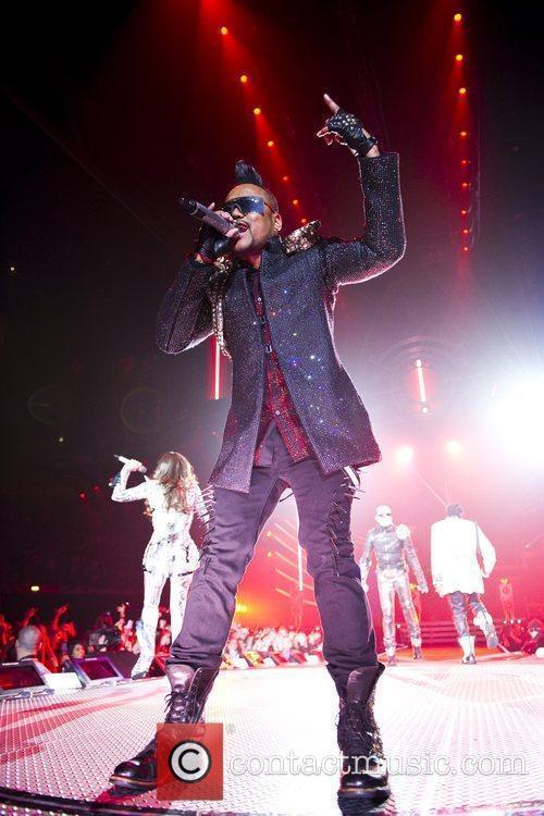 Apl.de.ap Black Eyed Peas perform live at the...