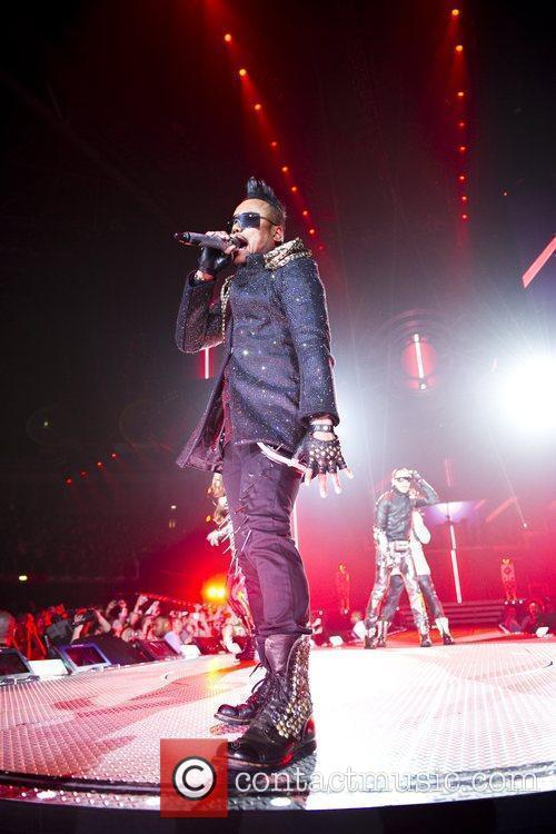 Black Eyed Peas perform live at the Forum