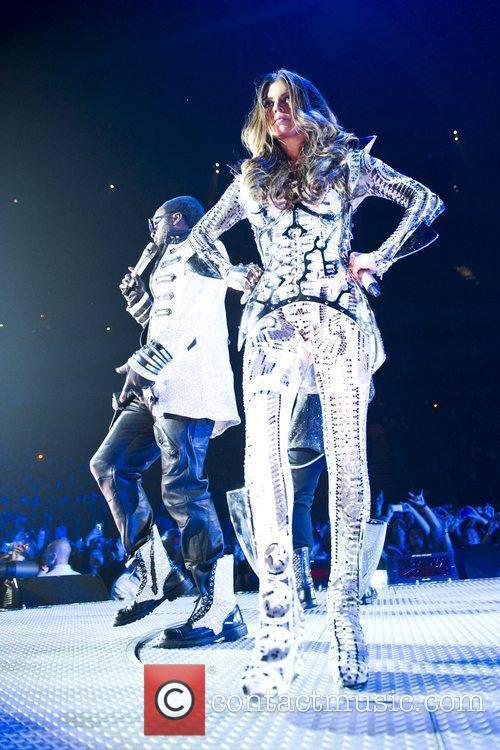 Fergie aka Stacy Ferguson Black Eyed Peas perform...