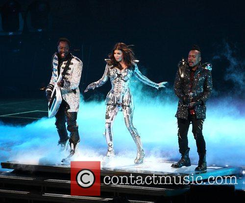 Will.i.am, Fergie, real name Stacey Ferguson of the...