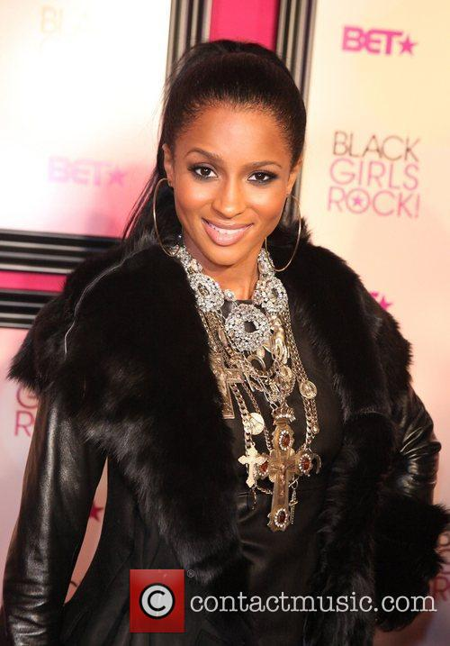 Ciara 5th Annual Black Girls Rock awards with...