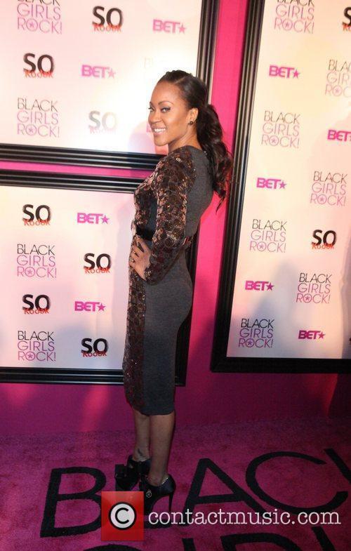 Shontelle  5th Annual Black Girls Rock awards...