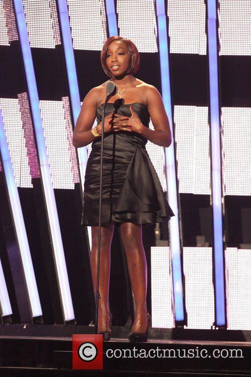 Estelle 5th Annual Black Girls Rock awards with...