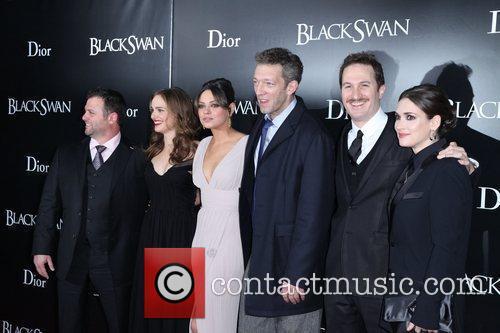 Natalie Portman, Darren Aronofsky, Mila Kunis, Vincent Cassell and Winona Ryder 1