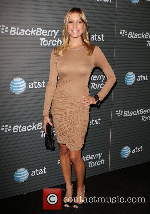 Kristin Cavallari Blackberry Torch From AT&T U.S. Launch...