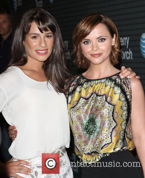 Lea Michele and Christina Ricci 1