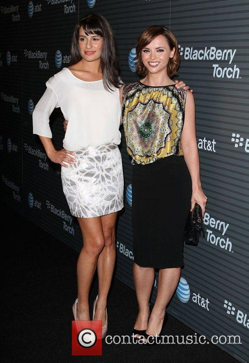 Lea Michele and Christina Ricci 3