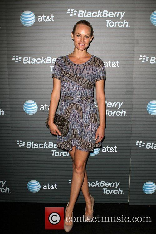 Amber Valletta  Blackberry Torch From AT&T U.S....