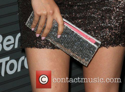 Christian Serratos Blackberry Torch From AT&T U.S. Launch...