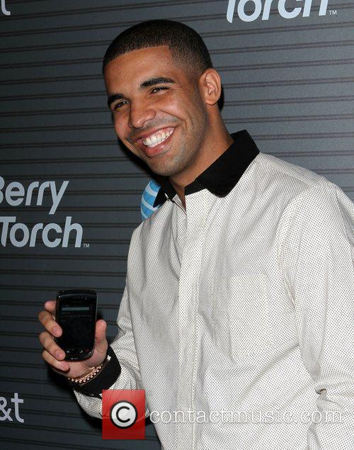 Drake Blackberry Torch From AT&T U.S. Launch Party...