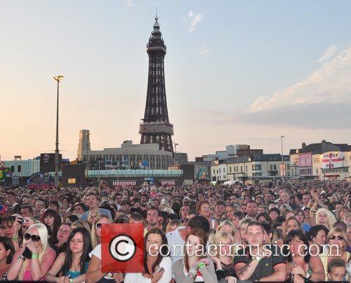 Atmosphere Blackpool Illuminations Ceremony  Lancashire, England