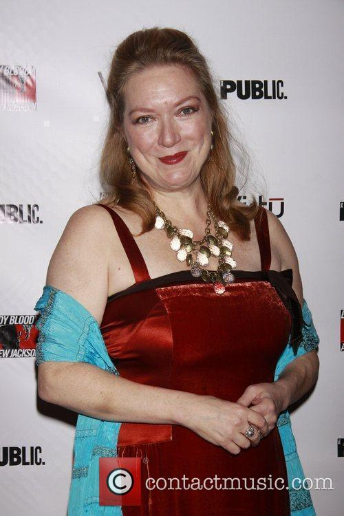 Kristine Nielsen Opening night of the Broadway musical...