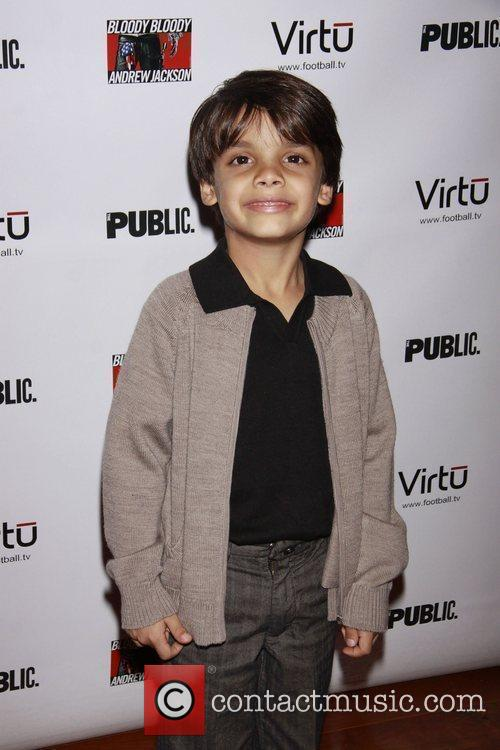 Aiden Eyrick Opening night of the Broadway musical...
