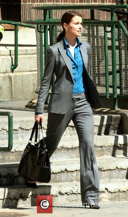 On the set of 'Blue Bloods'