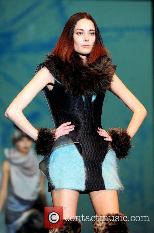 Joy McLaren Britain's Next Top Model live fashion...