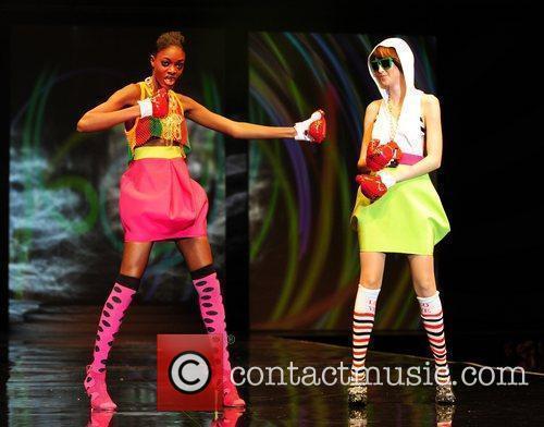Alisha White and Tiffany Pisani Britain's Next Top...