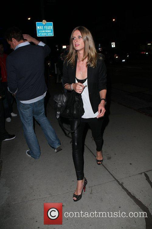 Nicky Hilton outside BOA steakhouse Los Angeles, California