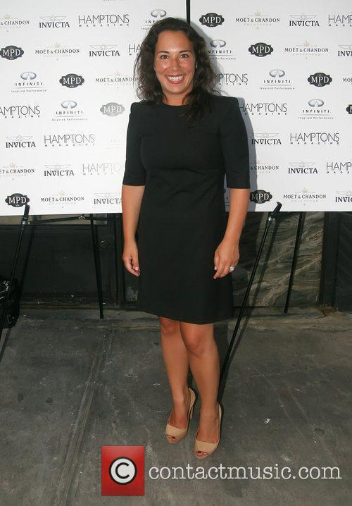 Hamptons Magazine Editor-In-Chief Samantha Yanks  Bobby Flay...