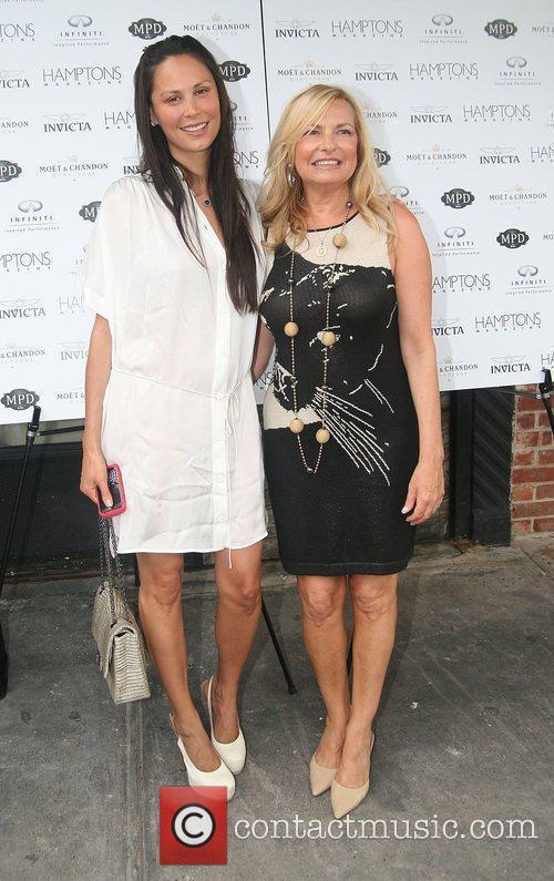 Julianne Wainstein and Publisher of Hamptons Magazine Debra...