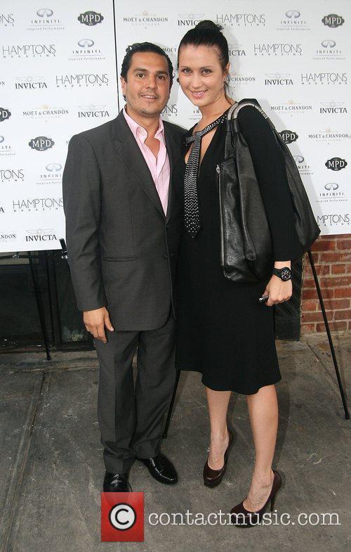 Bobby Flay celebrates with Hamptons Magazine, Invicta Watch...