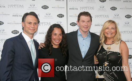 Bobby Flay celebrates with Hamptons Magazine, Invicta Watch...