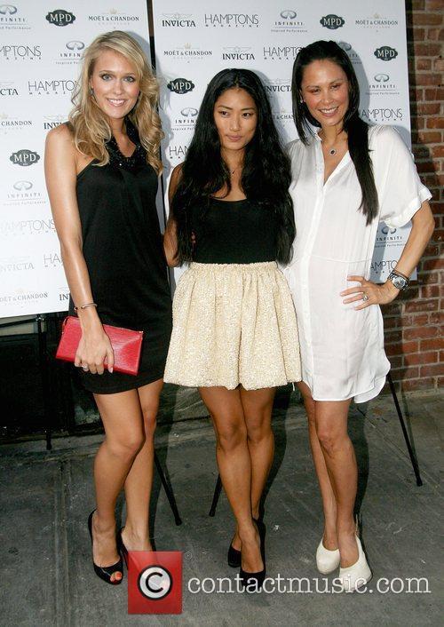 Sandra Saltina, Chloe Flower and Julianne Wainstein...