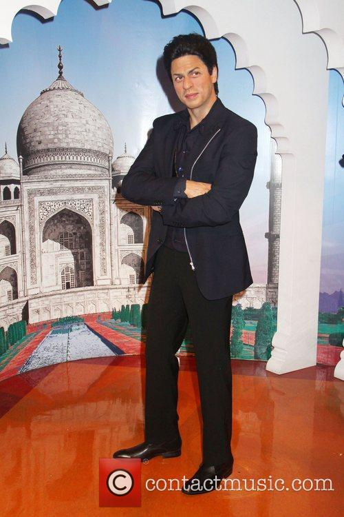 Shah Rukh Khan The waxwork unveiling of the...