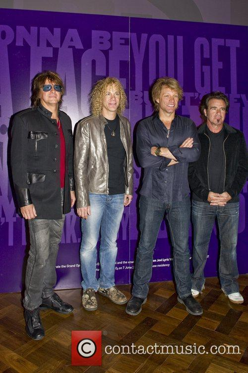 Bon Jovi begins their summer residency at the...