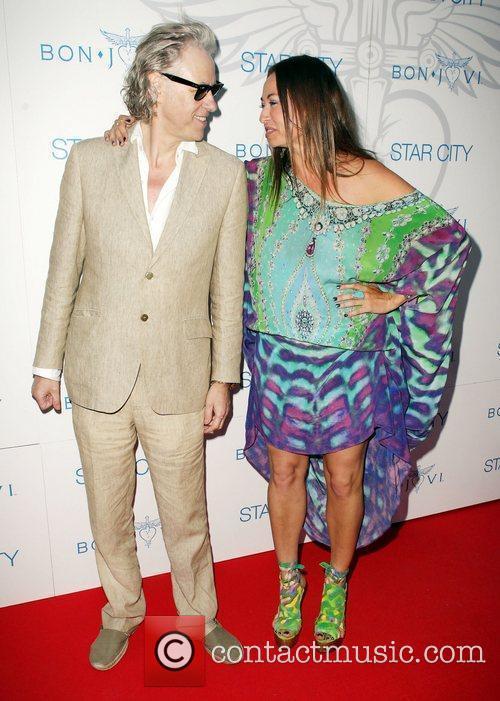 Bob Geldof and Bon Jovi 8