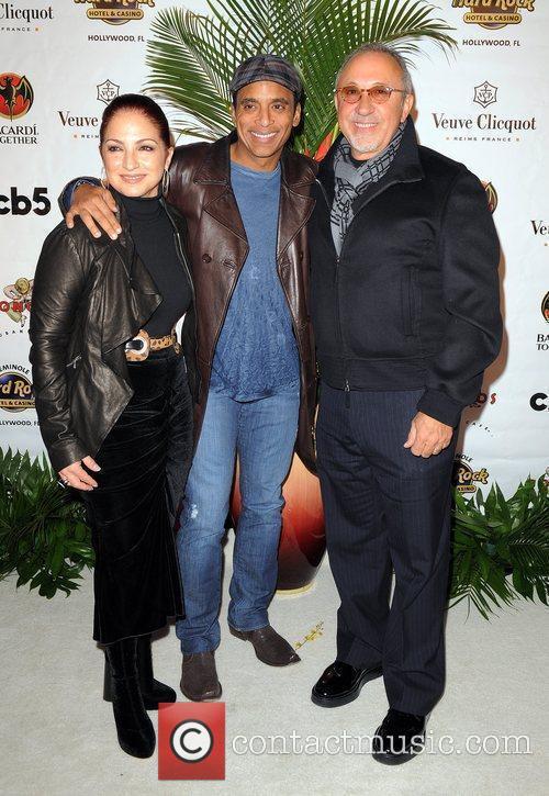 Gloria Estefan, Emilio Estefan and John Secada