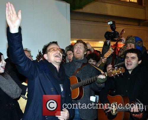 Bono and Glen Hansard 7