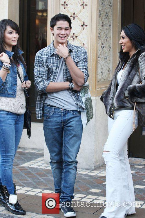 Boo Boo Stewart was spotted shopping with his...