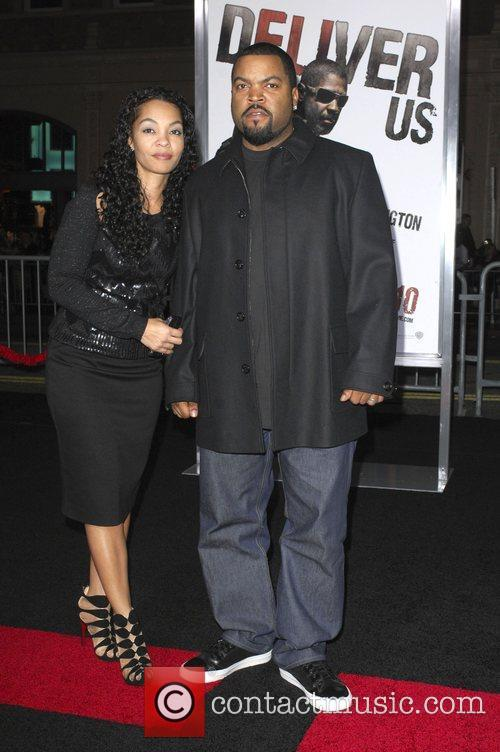 Ice Cube and wife Kimberly Woodruff Los Angeles...