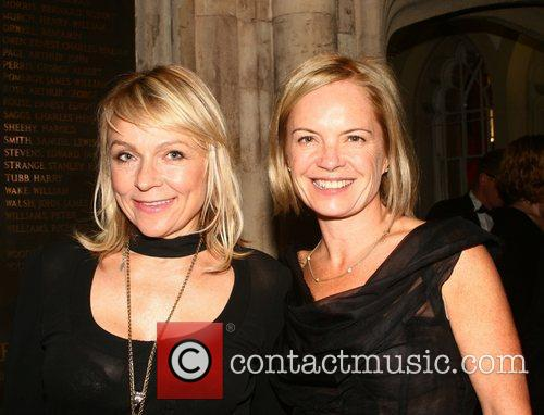 Mariella Frostrup and Guest attend the 2010 Man...