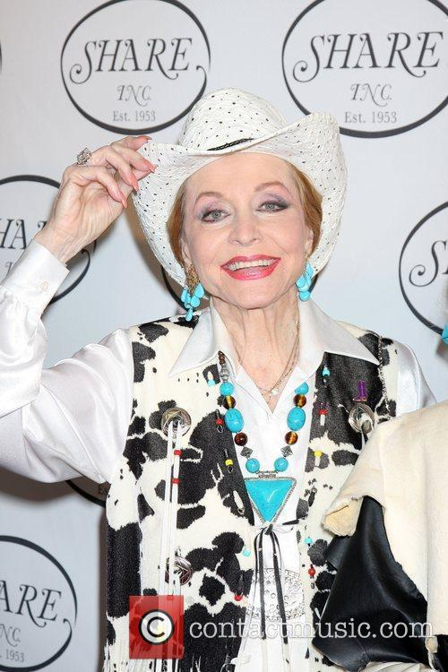 Anne Jeffreys  The Share Boomtown Gala 2010...