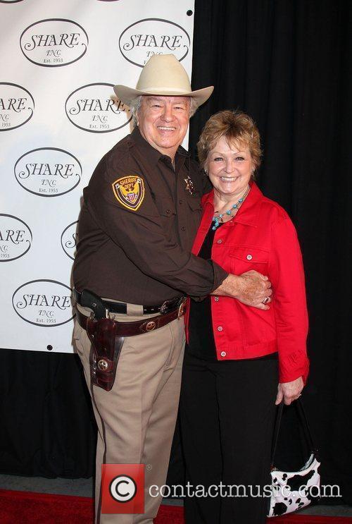 Ron Masak The Share Boomtown Gala 2010 held...