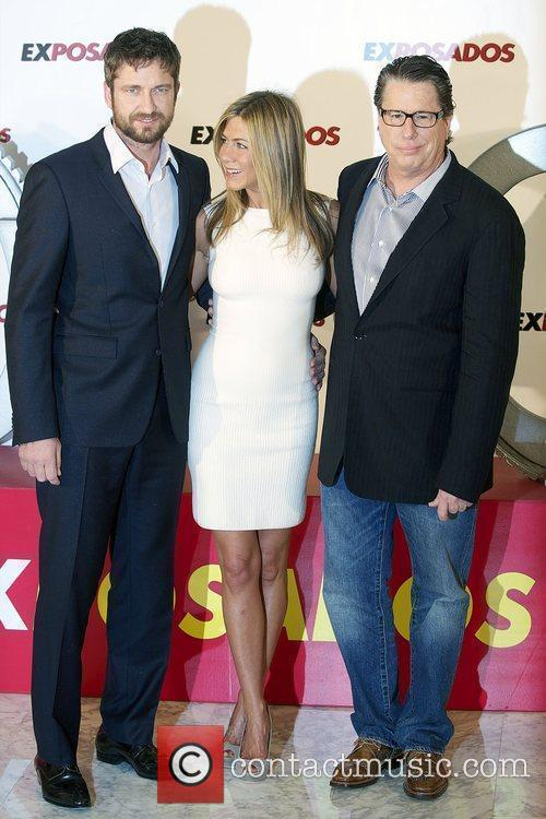 Jennifer Aniston, Gerard Butler and Director Andy Tennant...
