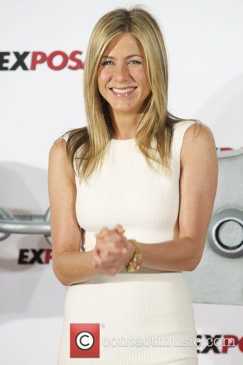Jennifer Aniston 'The Bounty Hunter' (Exposados) photocall Madrid,...